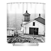 Historical Light Shower Curtain