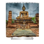 Historical Park Shower Curtain