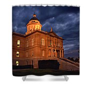 Historical Placer County Courthouse Shower Curtain