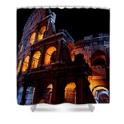 Historical Shapes In The Night Shower Curtain