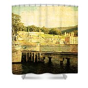 Historical Waters Shower Curtain