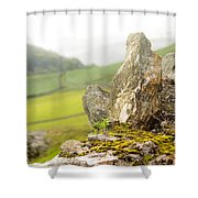 History And Nature. Wicklow. Ireland Shower Curtain