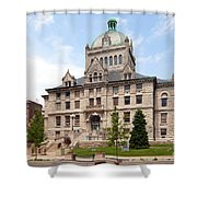 History Center Lexington Kentucky Shower Curtain