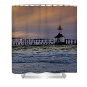 History In Action Shower Curtain