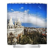 History Of Budapest Shower Curtain