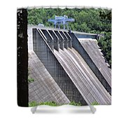Hiwassee Dam 1 Shower Curtain