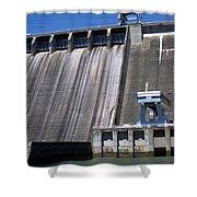 Hiwassee Dam 3 Shower Curtain