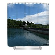 Hiwassee Dam 3 Shower Curtain