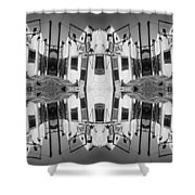 Hiway Cafe Shower Curtain