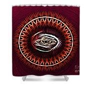 Hj-eye Shower Curtain