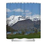 Hjorundfjord Shower Curtain