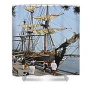 Hms Bounty Newburyport Shower Curtain