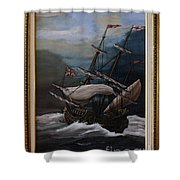 Hms Royal Prince 1670 Shower Curtain