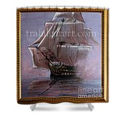 Hms Victory 1765 39 X 36 Inch 100 X 91 Cm Shower Curtain