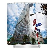 Ho Chi Minh City - Bitexco Financial Tower  Shower Curtain