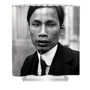 Ho Chi Minh In 1921 Shower Curtain