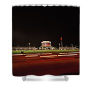 Ho Chi Minh Mausoleum Hanoi Shower Curtain