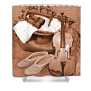 Hobbies Ready For Travel Shower Curtain