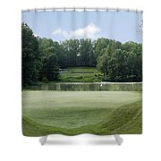 Hobbits Glen - Signature 11th Hole Shower Curtain