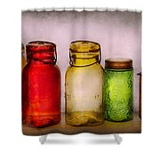 Hobby - Jars - I'm A Jar-aholic  Shower Curtain