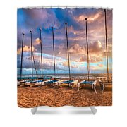 Hobe-cats Shower Curtain