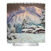Hocheisgruppe Shower Curtain