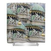 Hofburg Palace Dome Shower Curtain