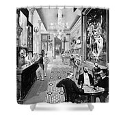 Hoffman House Bar Shower Curtain