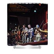 Hogmaw Band Shower Curtain