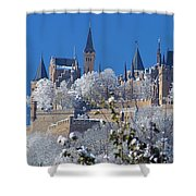 Hohenzollern Castle Germany Shower Curtain