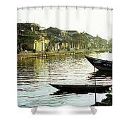 Hoi An Dawn 01 Shower Curtain