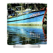 Hoi An Fishing Boat 01 Shower Curtain
