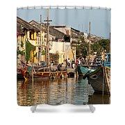 Hoi An Fishing Boats 02 Shower Curtain