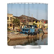 Hoi An Fishing Boats 03 Shower Curtain