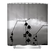 Hoi An Lanterns Shower Curtain