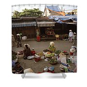 Hoi An Market Shower Curtain