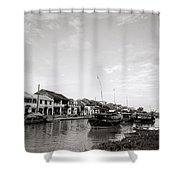 Hoi An Riverfront Shower Curtain