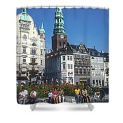 Hojbro Square Shower Curtain
