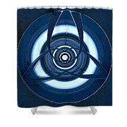 Holding Lines Shower Curtain