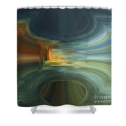 Hole In The Sky Shower Curtain