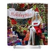 Holiday Bliss Shower Curtain