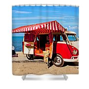 Holiday By The Seaside Shower Curtain