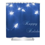 Holiday Card I Shower Curtain
