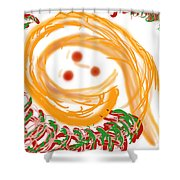 Holiday Depression Shower Curtain