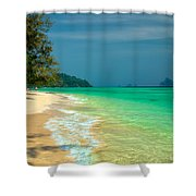 Holiday Destination Shower Curtain