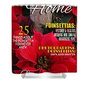 Holiday Home Magazine Cover Shower Curtain