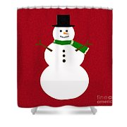 Holiday Hugs Shower Curtain
