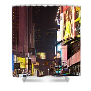 Holiday Hustle Shower Curtain
