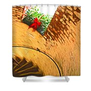 Holiday In The Lighthouse Shower Curtain