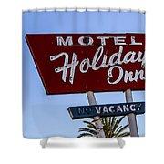Holiday Inn 3 Shower Curtain